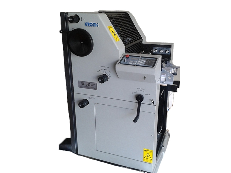 Gronhi Numbering and Perforating Machine
